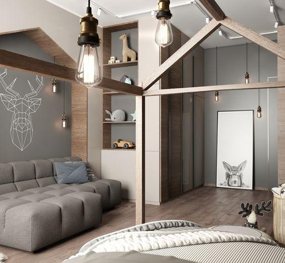 дитяча кімната в стилі лофт