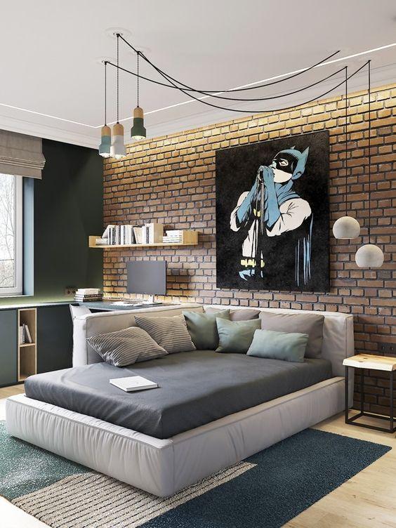 спальня для дітей лофт