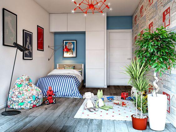 спальня скандинавський стиль